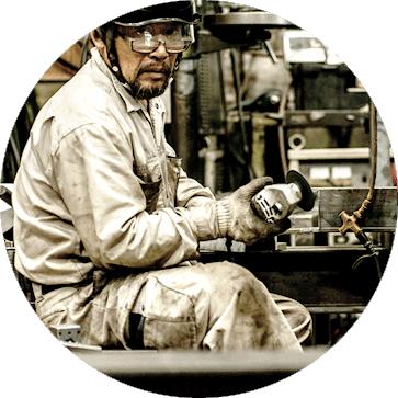 50年間で培った経験と職人の技術力