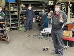 ガス切断機・溶接機・加熱器・圧力調整器の安全講習